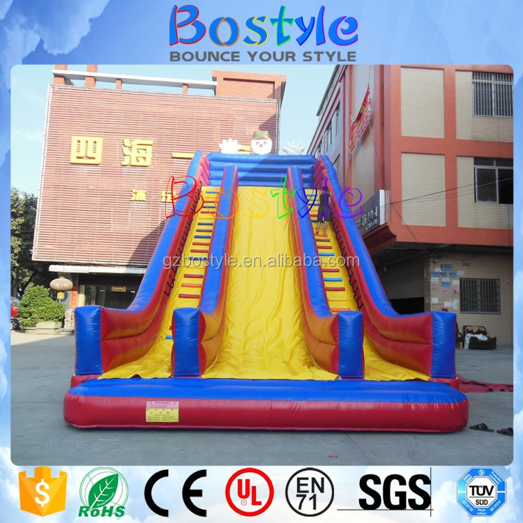 Used water slides inflatale giant water slide for adult 2017