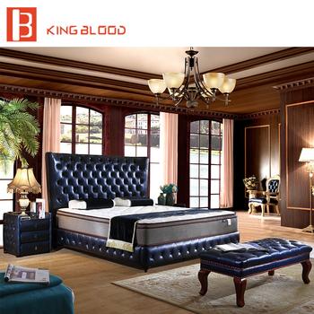 Klasik Tombol Biru Kulit Asli Mewah King Size Bed Dimensi Bedroom Set Furniture Buy Bedroom Furniture Bedroom Set King Size Bed Dimensi Kamar Tidur Furniture Set Mewah Product On Alibaba Com