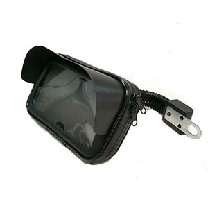 Factory price Universal Motorcycle Scooter Bicycle Waterproof Phone Holder Bag handlebar phone mount bag