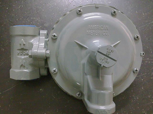 1inch AMCO 3000 Pressure Control Gas Regulator