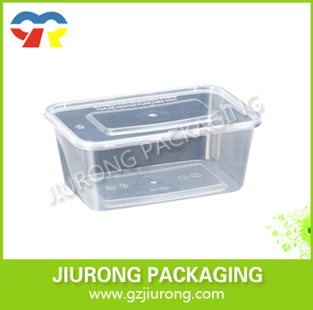 Disposable Pp Plastic Food Container With Sealable Lid Pp Storage