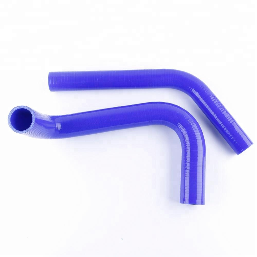 Blue For Chevy Corvette 69-72 Silicone Radiator Coolant Water Hose High Temp