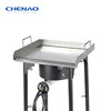 Hot Selling BBQ griddle plancha stainless steel pan (S300)