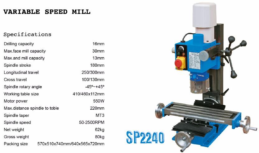 In cerca di distributore per sumore fresatura macchina SP2217 mini fresatura macchina-Popolare Fresatrice Universale