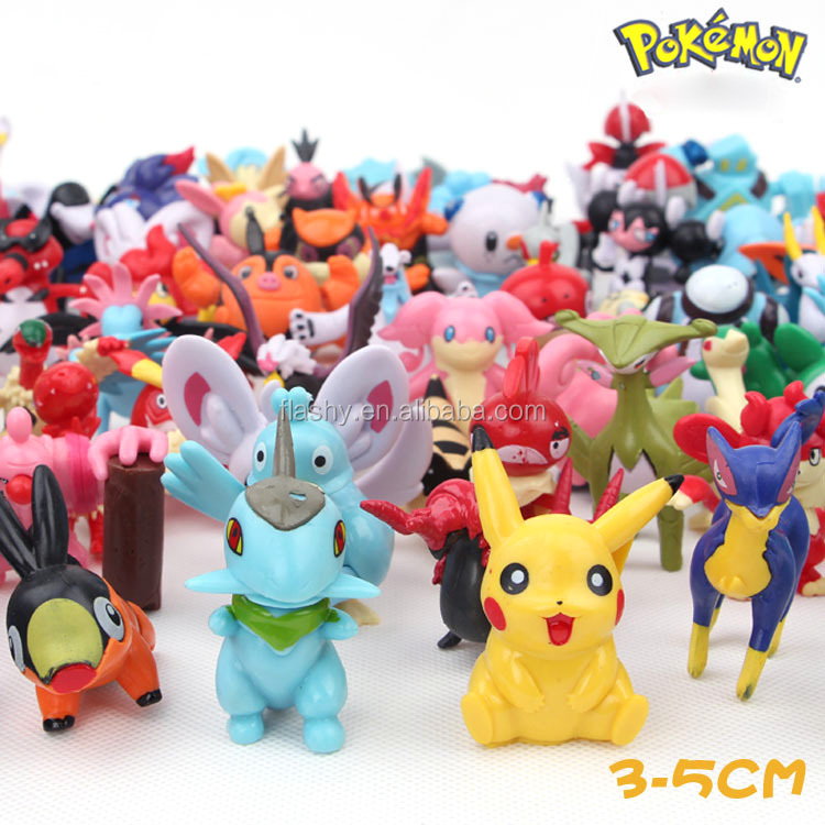Hot selling pokemon go toy pikachu toy EP plastic toy
