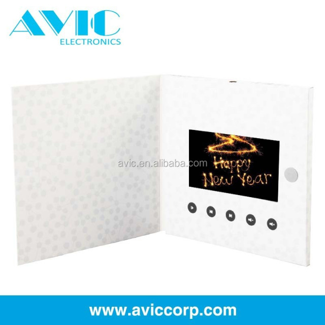 Buy cheap china greetings for the new year products find china 2015 high quality lcd video brochure cardvideo brochure for new year greeting m4hsunfo