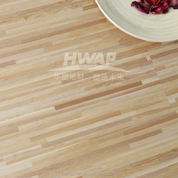 Wood Design 4mm 5mm Residential Commercial Loose Lay Pvc Vinyl