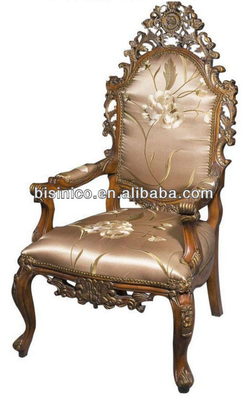 Gorgeous Victorian Single Sofa Arm Chair Excellent Wood Carved Arts Crafts Elegant And Fl Bisini Furniture Antique