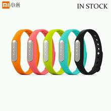 100% Original Xiaomi Mi Band Smart Miband Bracelet For Android 4.4 IOS 7.0 MI3 M4 Waterproof Tracker Fitness custom Wrist bands