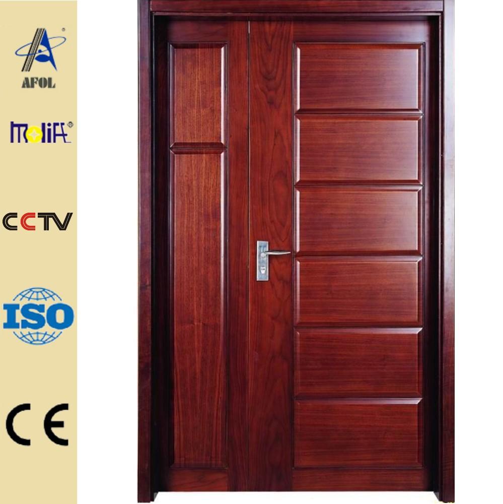 Zhejiang afol americano puerta de madera interior puerta for Puertas madera para interiores