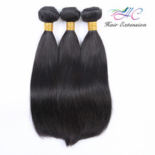 Qingdao Hair Factory 8A Grade Virgin Real Mink Brazilian Straight 100% Human Hair Wholesale