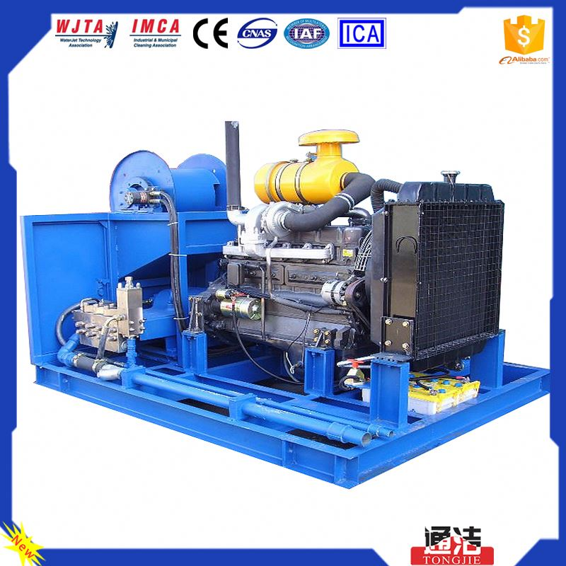 Self Propelled Pipeline Cleaning Equipment, Hydro Power Cleaner