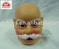 vinyl pvc santa claus doll head