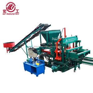 QT4-20 AUTOMATIC CONCRETE CEMENT MAKE BLOCK MACHINE LOW PRICE IN INDIA WITH HOT SELLING