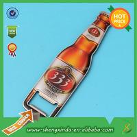 Metal Type Custom Shape Beer Bottle Opener With Engraving Logo