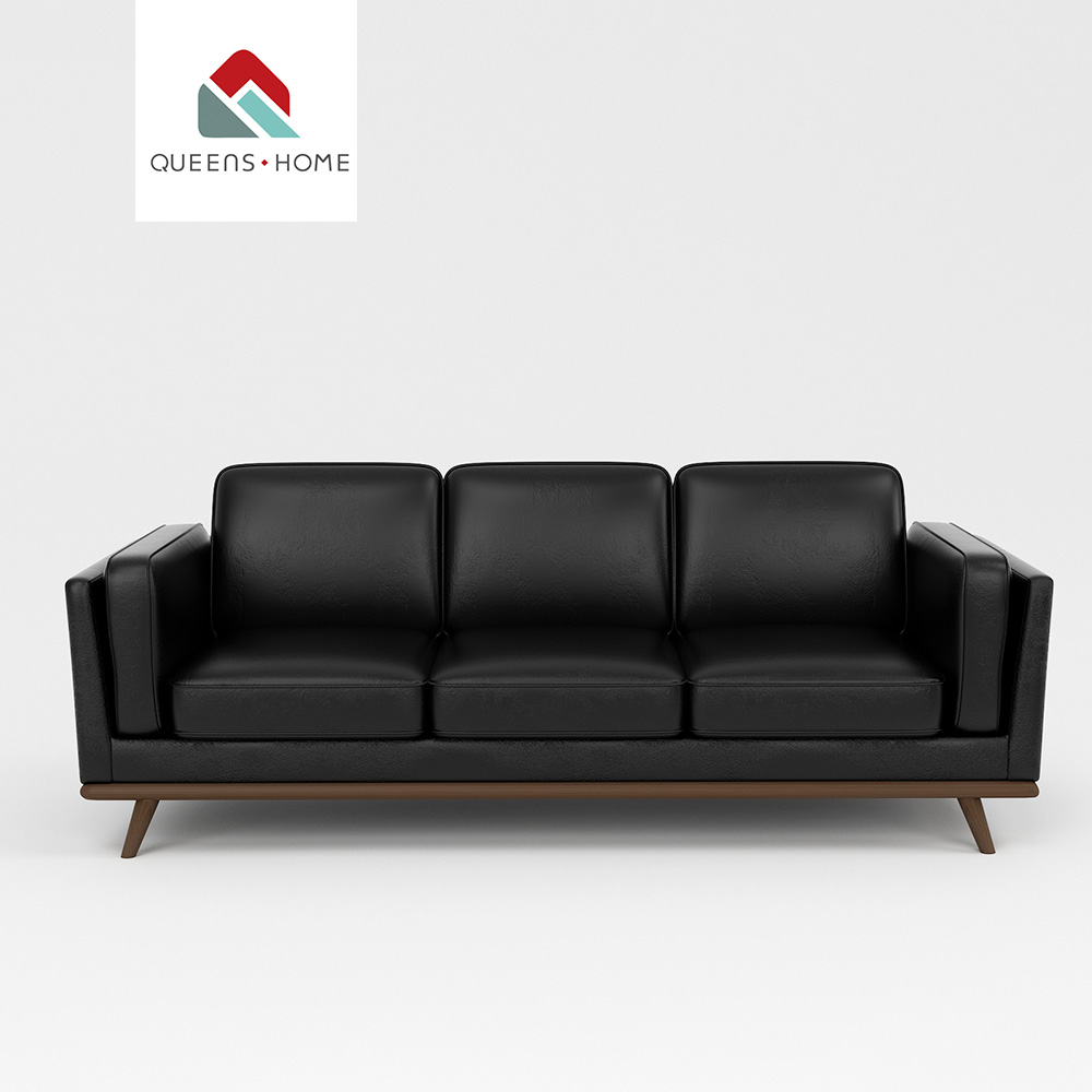 Superb Queenshome Living Room Black Modern Tan Small Faux Suede Comfy Stylish Reclining Pu Leather Fabric Loveseat Couch Sofa Buy Leather And Fabric Couch Bralicious Painted Fabric Chair Ideas Braliciousco