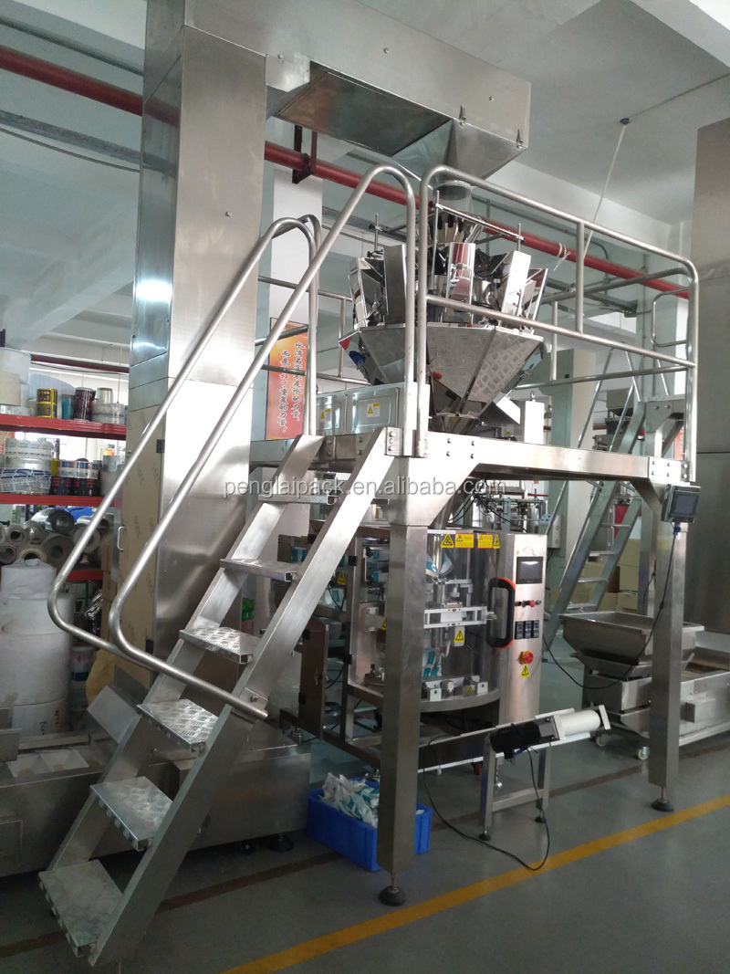 Snack industry Multi-heads cashew nuts packing machine