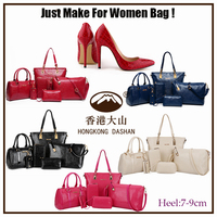 y72 2015 Fashion style Bag and shoes set 6 for women in handbags shoes match bag Wholesale made in china online shopping