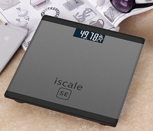 Iscale SE Bathroom Floor Body Weighing Scale Household Smart LCD Electronic Digital Scale With Temperature Measurement CA5077