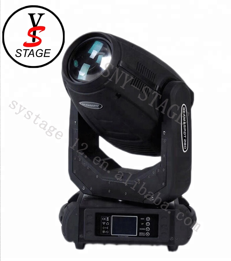 2018 newest super brightness Beam wash 280W <strong>pointe</strong> 10r zoom moving head Spot light
