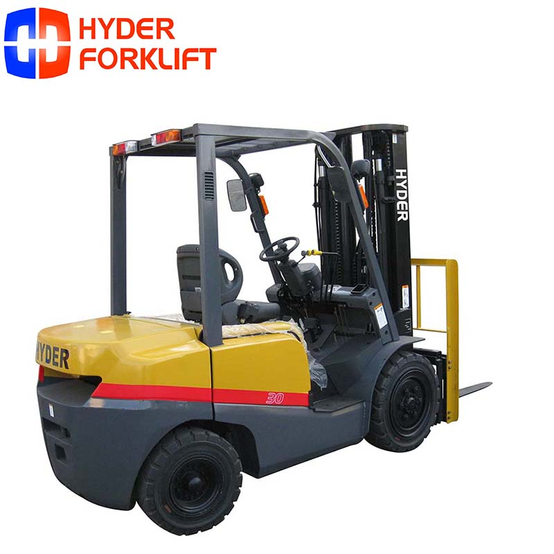 Top quality 3ton diesel forklift 3m-6m lifting height