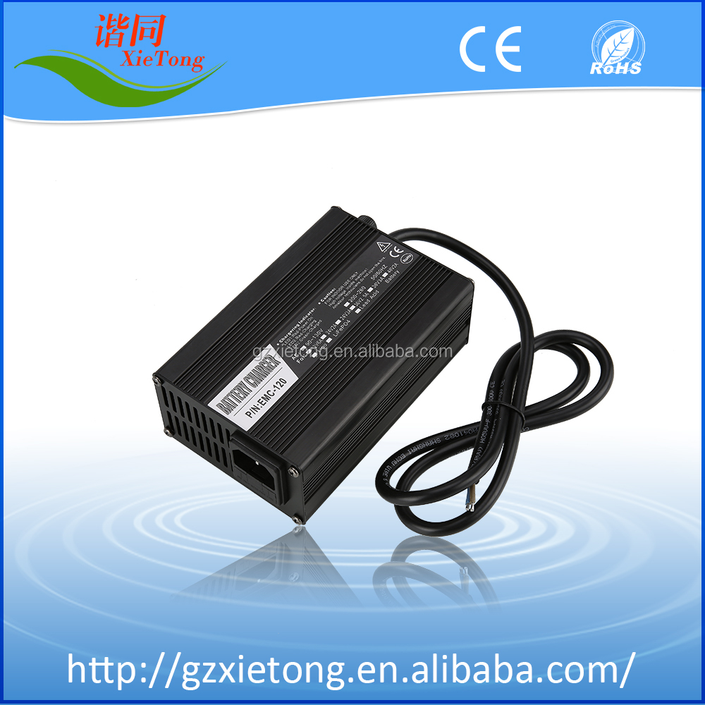 54.6V 13S 2A Li-ion 18650 battery charger with excellent functions