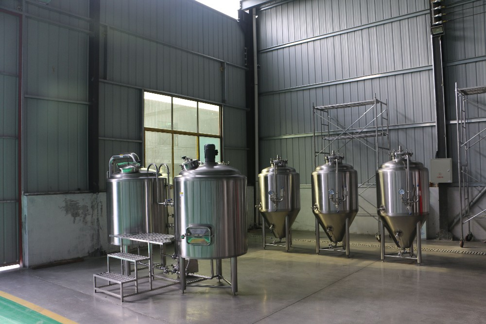 Turnkey Project Beer Brewery Machine Include Mini Beer