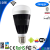 10w RGBW WiFi Led E27 E26 B22 New Bulb Smart Home Control System iPhone Android Smart App Music Stand Light