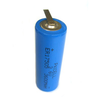Non rechargeable 3500 mah 3.6v er17505 3500mah lithium ion battery