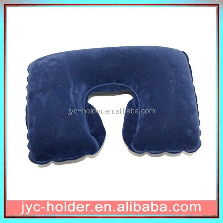 ALC026 custom flocked pvc inflatable pillow