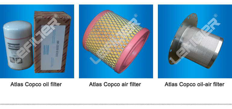 LEFILTER hot sales alternative air filter 1613800400 2903101200 for Atlas Copco compressor