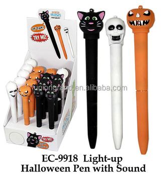 Light up Halloween Pen with sound