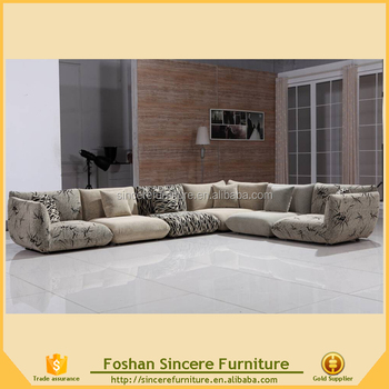 Middle East Floor Sofa Arabic Style Fabric For Living Room