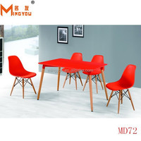 cheap China modern cafe restaurant office wooden metal furniture round tall bar table and chair set