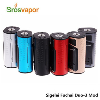 2017 Alibaba Express Top Selling Fuchai Duo-3 Vape Mod Authentic Sigelei Fuchai Duo 3 MOD with 175w or 255w Output Wattage