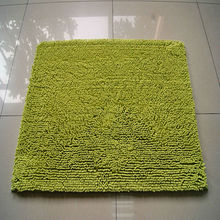 thick pile microfiber chenille washable absorbent floor mat