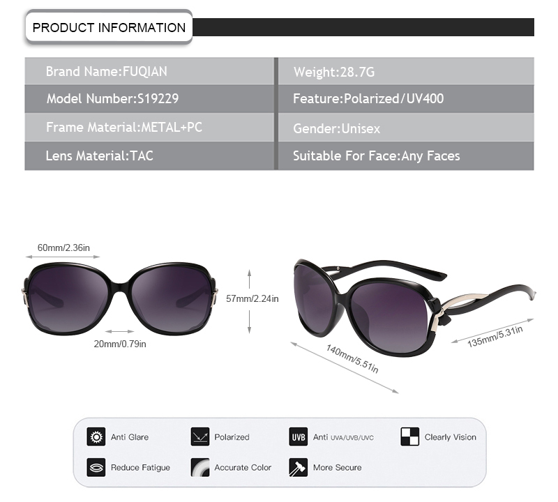 Fuqian girls what does polarized lenses mean customized for racing-7