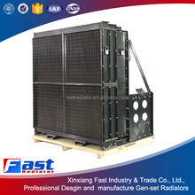 FAST Exellent high and low tempearture MTU copper core radiators assy