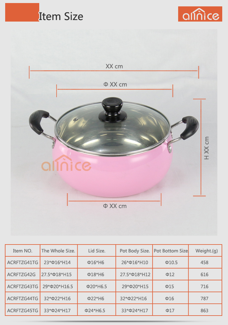 Modern Kitchen Cookware Designs High Definition Color Painting Pearl