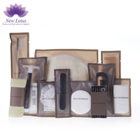 Luxury Airline/Hotel Bathroom Portable Amenities Sets 5 Star Hotel Toiletry Kit