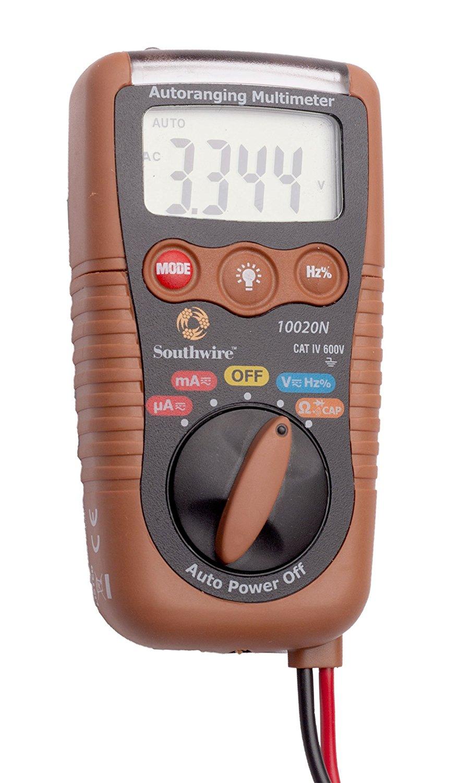 Southwire 10020N 3-in-1 Pocket Multimeter CAT IV