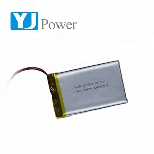 Latest Customized lipo battery 603759 1500mAh 3.7V lithium battery for data collectors with PCB
