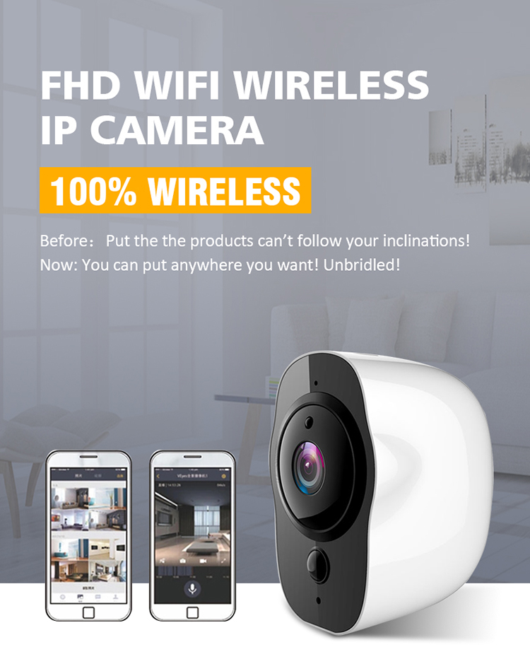 NEW Home security IP camera long time standby wireless cctv camera