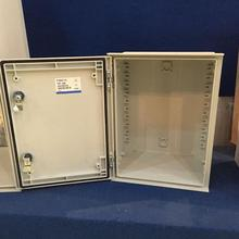 SMC Grey IP66 polyester powder enclosure box with metal plate