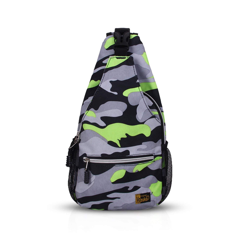 Buy FANDARE Sling Bag Shoulder Backpack Crossbody Bag Chest Pack Bag Single  One Strap Bag Fanny Cycling Hiking Outdoor Travel Sport Bag Unbalance Gym  ... bc83b41f12