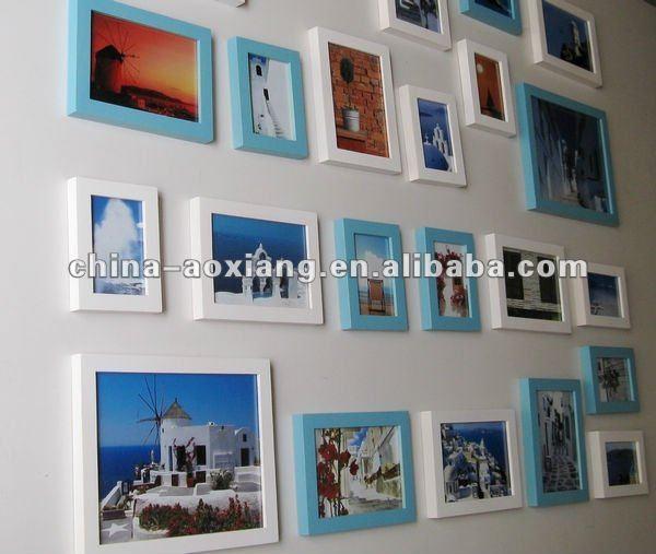 13p conjunto ps marco de fotos en varios colores- decoración de la ...