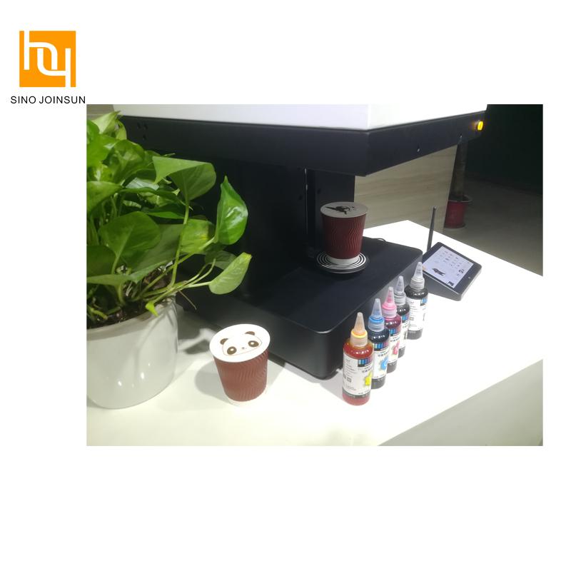 완전 스마트 식용 사진 프린터 커피 라떼 프린터