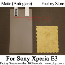 Matte Anti-glare Screen Protector Guard Cover protective Film For Sony Xperia E3 D2202 D2203 D2206 D2212 D2243