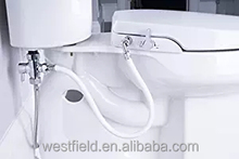 Factory Bathroom Slow Closed Auto-cleaning Bidet Toilet Seat Toilet fittings with Dual Nozzles