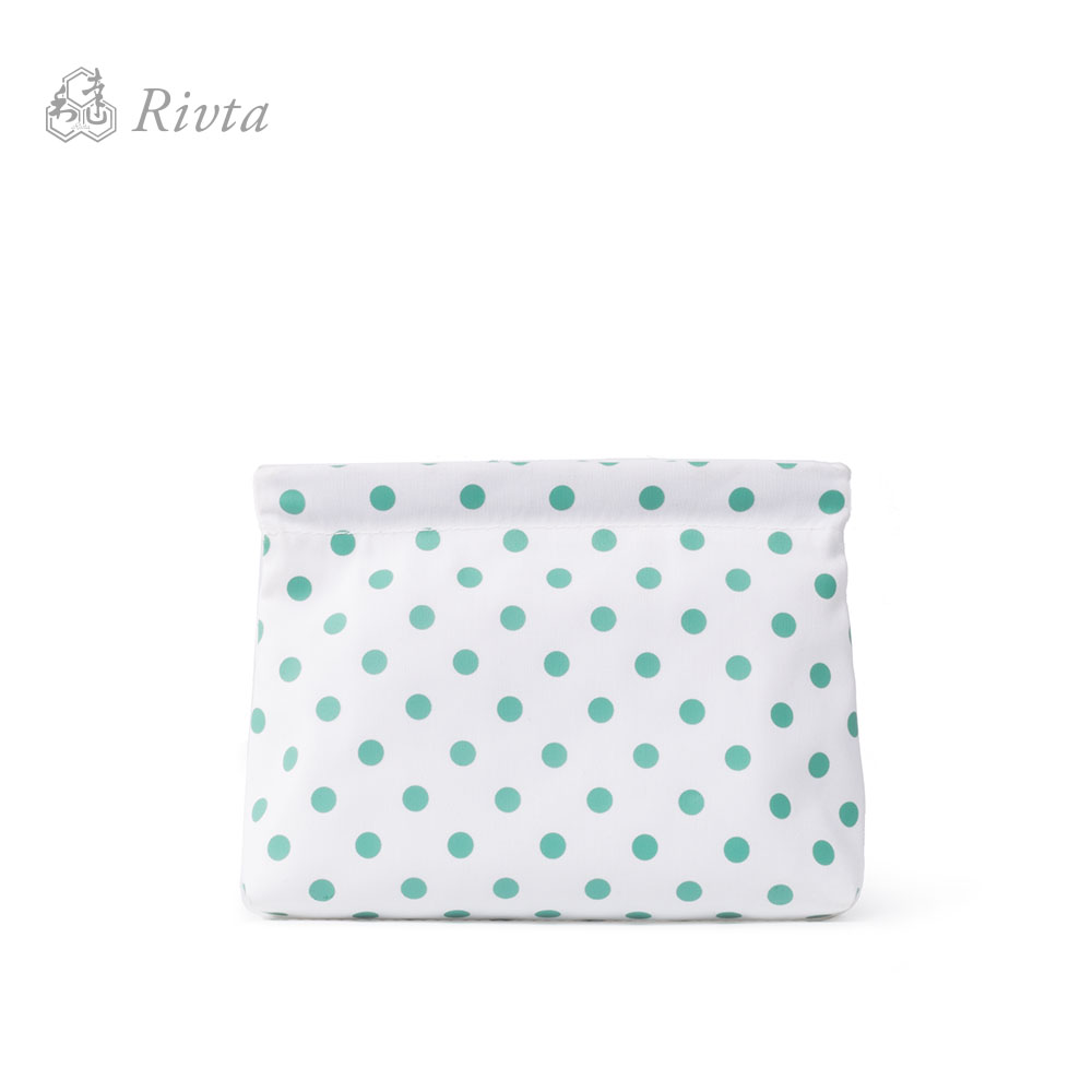 New Fashion Women's Wave Point RPET Recycle Travel Neceser Cosmetic Bag Makeup Bag Shrapnel Bag Mini Pouch